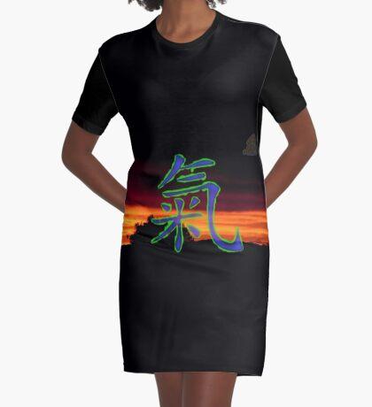 Chi Graphic T-Shirt Dress