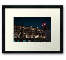 Metro Framed Print
