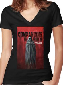 Companions In Ruin Women's Fitted V-Neck T-Shirt