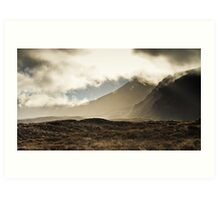 Tongariro in the Mist Art Print