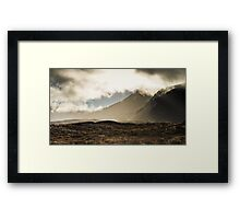 Tongariro in the Mist Framed Print