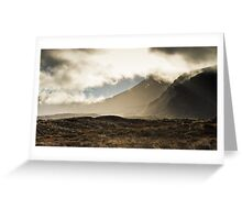 Tongariro in the Mist Greeting Card
