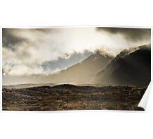 Tongariro in the Mist Poster