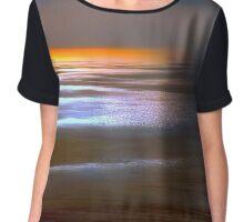 Sunset Glow by Lena Owens Chiffon Top
