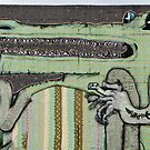 Graffiti Art Crocodile by yurix