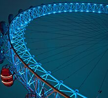 London Eye by Sebastian Chalupa