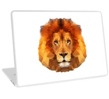 Geometric Lion Laptop Skin