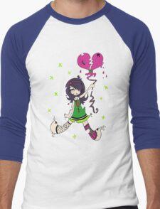 Destructive Love by Lolita Tequila Men's Baseball ¾ T-Shirt