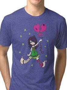 Destructive Love by Lolita Tequila Tri-blend T-Shirt
