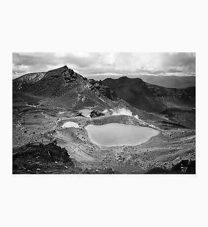 Volcanic Monochrome Zone Photographic Print