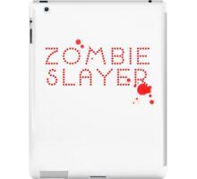 Zombie Slayer iPad Case/Skin