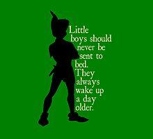 Peter Pan ~ Little boys (dark) by sweetsisters