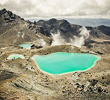 The Emerald Lakes  by Shaun Jeffers Photography