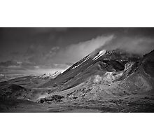Volcano Clouds Photographic Print