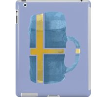 Sweden Beer Flag iPad Case/Skin