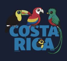 Cute Costa Rica Birds by Birdorable Baby Tee