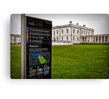 Greenwich Canvas Print