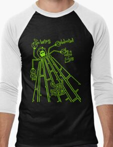 Cute UFO by Lolita Tequila Men's Baseball ¾ T-Shirt