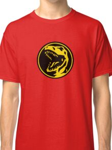 Mighty Morphin Power Rangers Red Ranger Symbol Classic T-Shirt