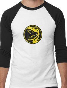 Mighty Morphin Power Rangers Red Ranger Symbol Men's Baseball ¾ T-Shirt