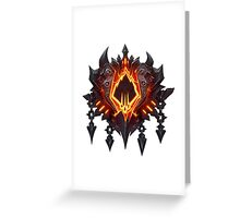World of Warcraft BRF Icon Greeting Card