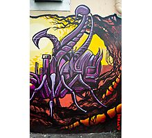 Graffiti Art Scorpion Photographic Print