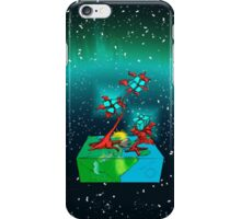Boxy Planet of Gems iPhone Case/Skin