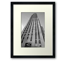 Rockefeller Center 30 Rock v2  Framed Print