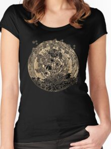 Night Spores Women's Fitted Scoop T-Shirt