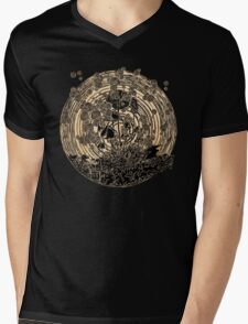 Night Spores Mens V-Neck T-Shirt