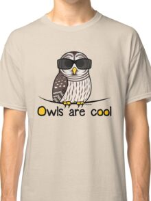 Owls are Cool by Birdorable Classic T-Shirt