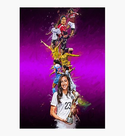 Christen Press (From Stanford University to Chicago Red Stars + National Team) Photographic Print