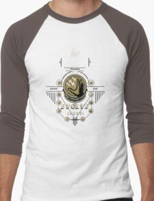 Fontaine Futuristic's Plasmids Ad Men's Baseball ¾ T-Shirt