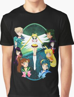 Sailor moon Sailor Stars Graphic T-Shirt