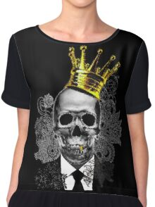 Live Free or Die Chiffon Top