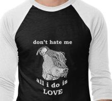 Pitbull Love Men's Baseball ¾ T-Shirt
