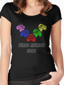 Turbo Reunion 2016 (Zords) Women's Fitted Scoop T-Shirt