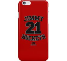 Jimmy Buckets Tee. iPhone Case/Skin