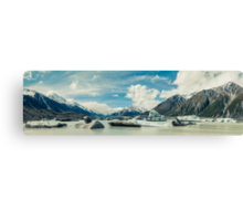 Tasman Glacier, New Zealand Canvas Print