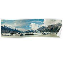 Tasman Glacier, New Zealand Poster