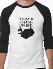 Summer is NOT coming - iceland(black text) T-Shirt
