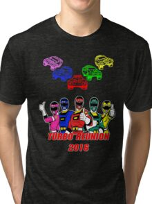 Turbo Reunion 2016 (Rangers and Zords) Tri-blend T-Shirt