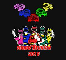 Turbo Reunion 2016 (Rangers and Zords) Unisex T-Shirt