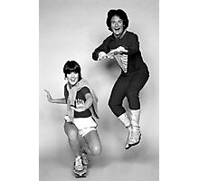Dynamic Duo \\ Mork and Mindy Photographic Print