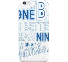 BJ is better than a Yank iPhone Case/Skin