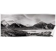 Monochrome Mountains  Poster
