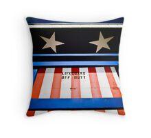 Lifeguard Off Duty USA Throw Pillow