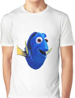 Finding Dory - Painted Design Graphic T-Shirt