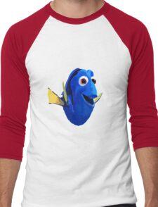 Finding Dory - Painted Design Men's Baseball ¾ T-Shirt