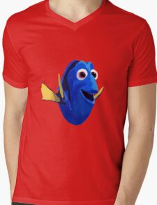 Finding Dory - Painted Design Mens V-Neck T-Shirt